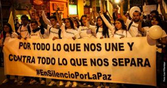 Für alles, was uns eint, und gegen alles, was uns trennt (Foto: Leo Villamizar)