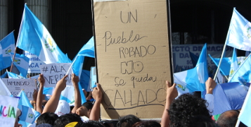 Un pueblo robado no se queda callado (Guatemala)