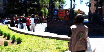 pbi-Freiwillige in Mexiko