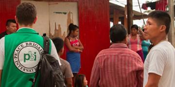 PBI begleitet Aufklärungmission nach erneuter Vertreibung der Wounaan im Westen Kolumbiens