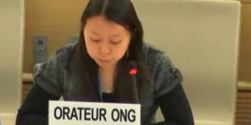 Die Advocacy-Koordinatorin von pbi Schweiz, Kim-Mai Vu