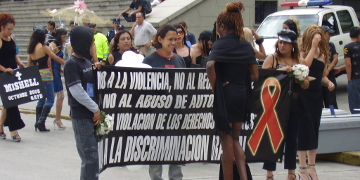 LGBTI*-Demonstration in Guatemala