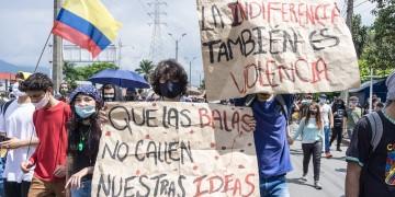 Generalstreik in Kolumbien