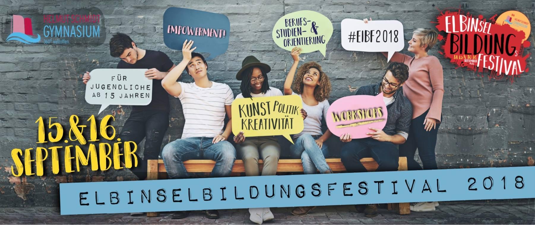 Elbinselbildungsfestival 2018