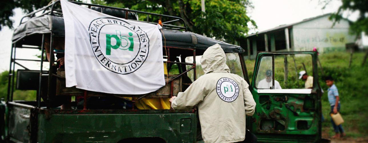 Freiwilligendienst mit der Menschenrechtsorganisation peace brigades international in Kolumbien