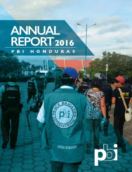 Annual Report Honduras