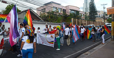 LGBTIQ-Demonstration in Honduras