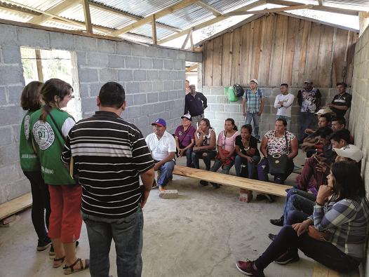 Begleitung von CNTC anlässlich einer Infoveranstaltung über die Landsituation der Bäuer_innen