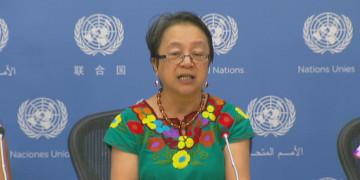 Sonderberichterstatterin für die Rechte indigener Völker, Victoria Tauli-Corpuz
