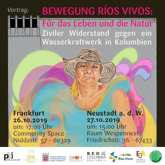 """""""Bewegung Rios Vivos: Für das Leben und die Natur - Ziviler Widerstand gegen ein Wasserkraftwerk in Kolumbien"""""""
