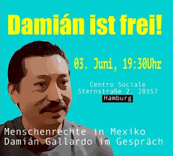 Menschenrechte in Mexiko – Damián Gallardo im Gespräch