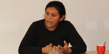 Die Menschenrechtsverteidigerin Nora Ramírez aus Honduras