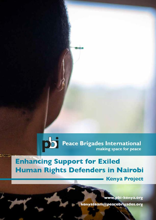 Enhancing Support for Exiled Human Rights Defenders in Nairobi