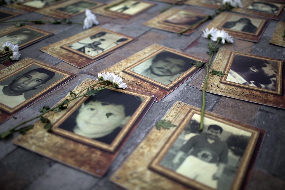 Portraits von Opfern des kolumbianischen Konfliks