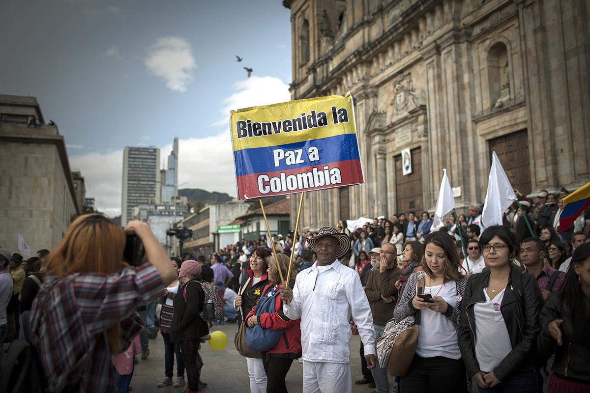 Bienvenida la Paz a Colombia