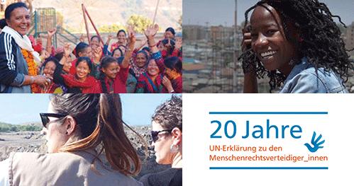 Frauen für die Menschenrechte - Menschenrechtsverteidigerinnen aus Kenia, Mexiko und Nepal berichten über ihre Erfahrungen