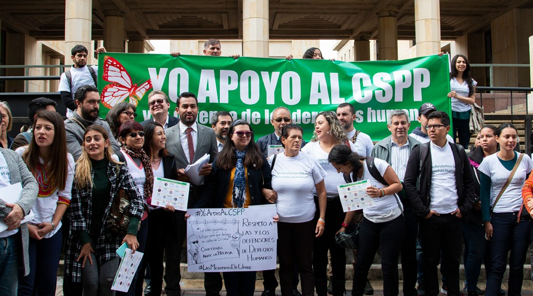 Das kolumbianische Solidaritäts-Komitee mit den politischen Gefangenen, CSPP