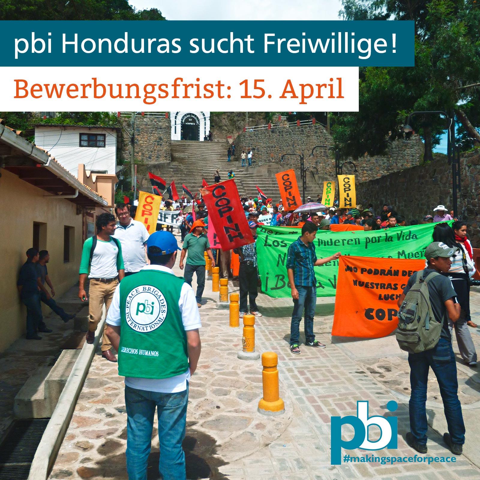 Bewerbungsfrist Honduras