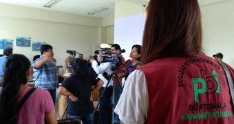 pbi-Freiwillige in Guatemala