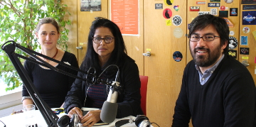 Hedme Castro und Edy Tabora_Interview auf Radio RaBe
