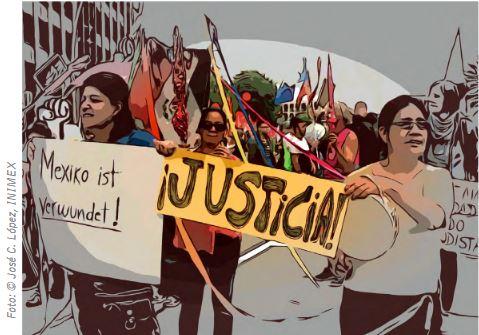 Hoffnung für die Menschenrechte in Mexiko (Foto_©José C. López, INIMEX)