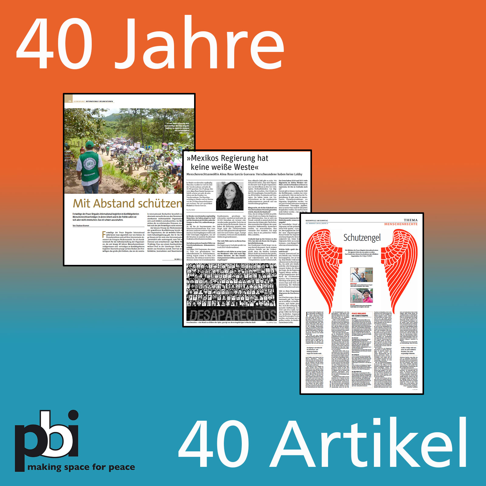 40 Jahre, 40 Artikel