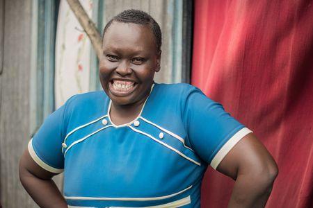 Jackline Kwamboka isist eine Menschenrechtsverteidigerin aus Mukuru (Nairobi).
