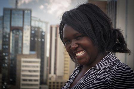 Kate Wangui ist eine Menschenrechtsverteidigerin aus Kibera (Nairobi).