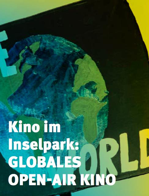 Kino im Inselpark: Globales Open-Air Kino 2021