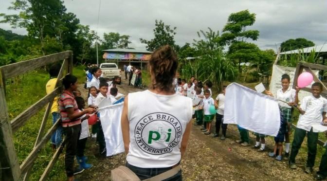 Kolumbien: Botschaften besuchen humanitäre Zone von Jiguamiandó