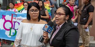 LGBTIQ-Aktivistin  Esdra Sosa aus Honduras