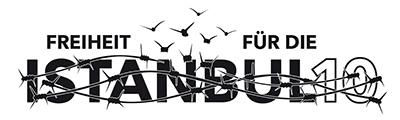 """Logo """"Freiheit für die Istanbul10"""""""