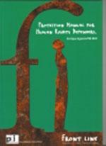 Handbuch für Menschenrechtsverteidiger_innen