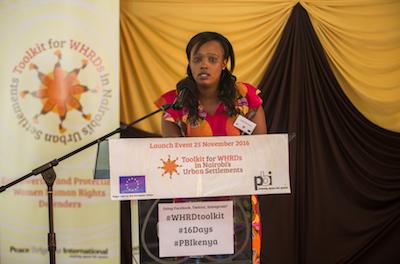 Menschenrechte in Kenia - Launch des Women Human Rights Defenders Toolkit