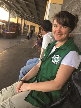 Mieke Wolter (ehemalige pbi-Freiwillige in Honduras)