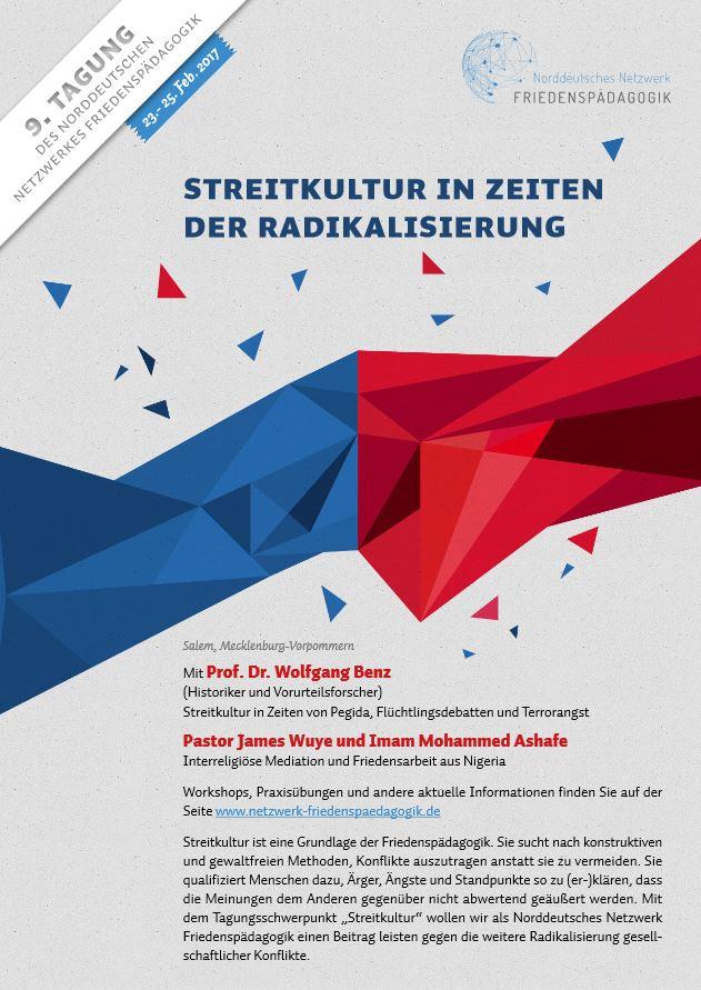 9. Tagung des Norddeutschen Netzwerkes Friedenspädagogik
