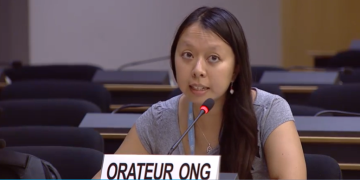 PBI-Advocacy-Koordinatorin Kim-Mai Vu