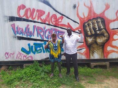 Polizeigewalt in Nairobi, Kenia - Erfahrungsberichte der Menschenrechtsverteidiger_innen Maryanne Kasina und Antony Kimani Mburu.