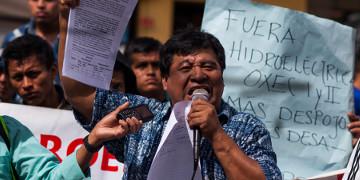 Umweltaktivist Bernardo Caal Xol