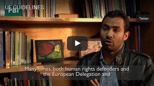 Video - EU-Leitlinien zum Schutz von Menschenrechtsverteidiger_innen