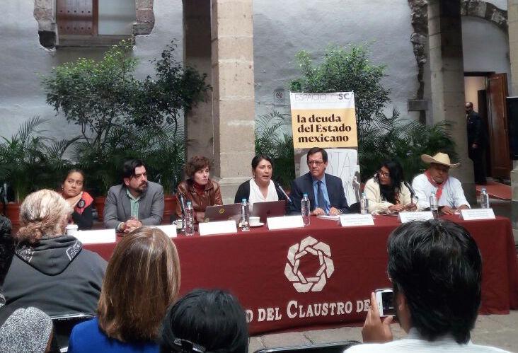 """Vorstellung des Berichts """"""""Protección Integral para Personas Defensoras de DDHH y Periodistas, la deuda del Estado Mexicano"""". @PBI México"""