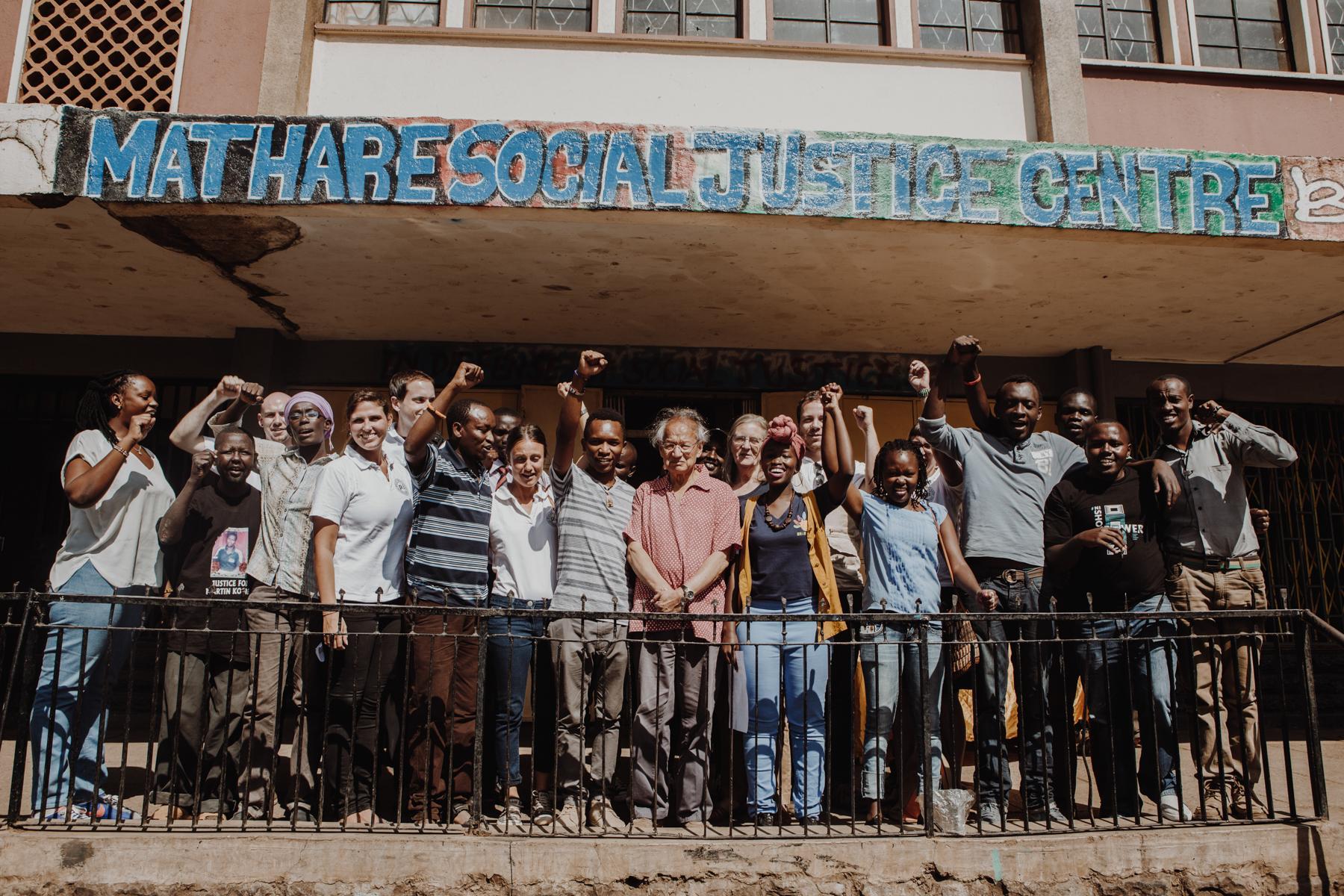 Welttag der sozialen Gerechtigkeit - Mathare Social Justice Center