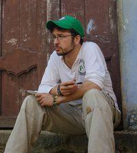 Der pbi-Freiwillige Stephan Kroener