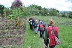 die pbi-Freiwillige Katharina Ochsendorf in Guatemala