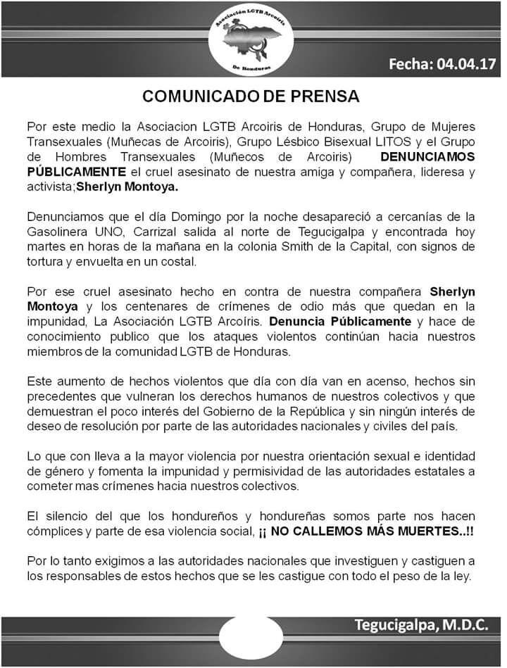 Pressemitteilung Arcoiris