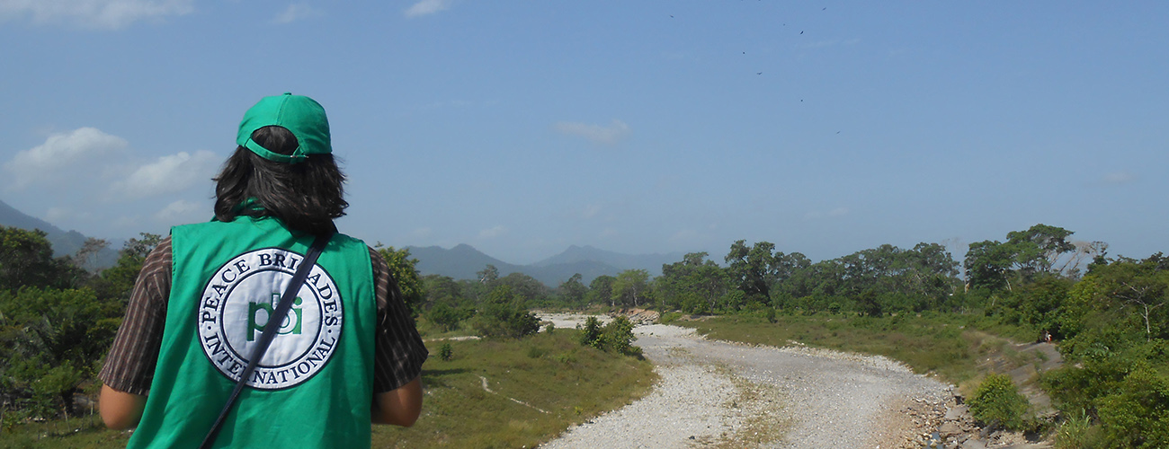 Freiwilligendienst bei der Menschenrechtsorganisation peace brigades international (pbi) in Honduras