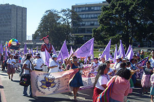 Demonstration in Guatemala