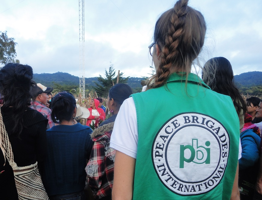 pbi-Freiwillige in Honduras