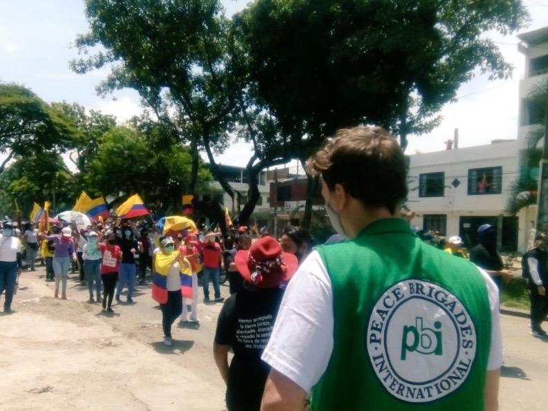 Kolumbien_Streik_Begleitung_5.Mai