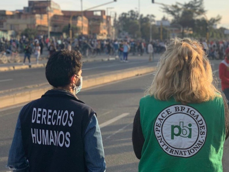 Kolumbien_Streik_Begleitung